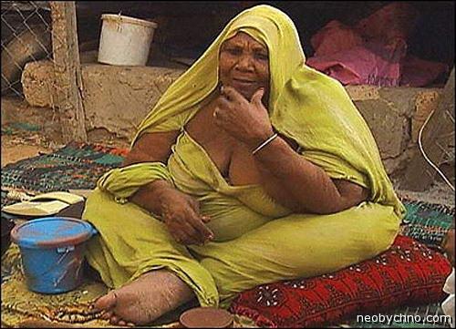 Толстая мавританская женщина