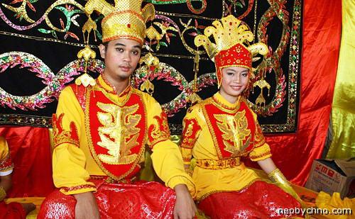 Малайская свадьба