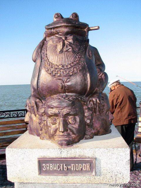памятники порокам
