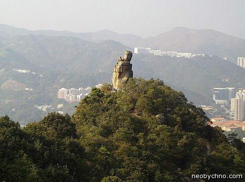 Скала Ама, Гонконг