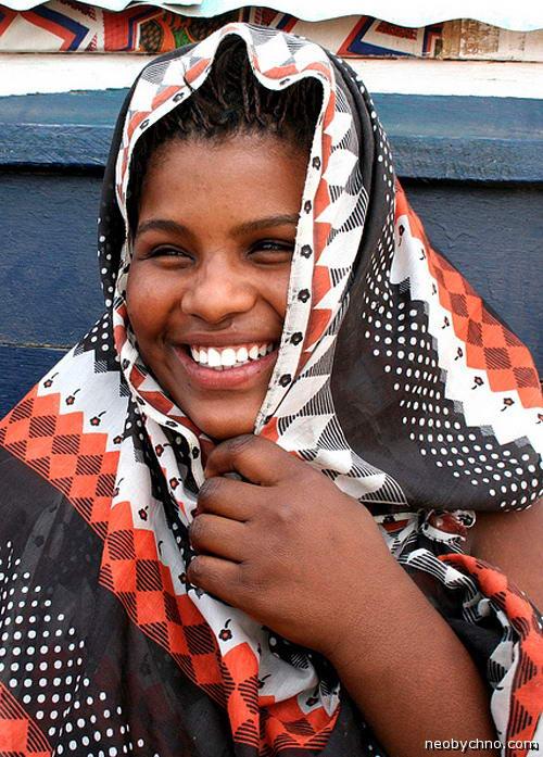 женщина из Мавритании