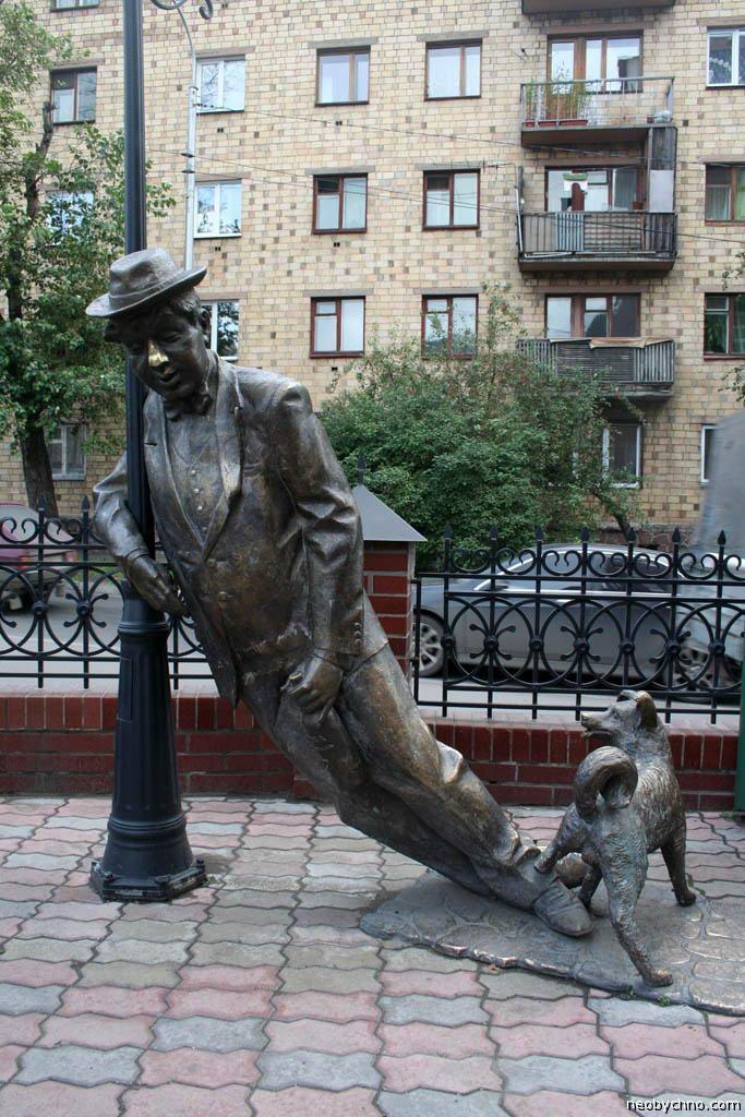 памятник пьянице Красноярск