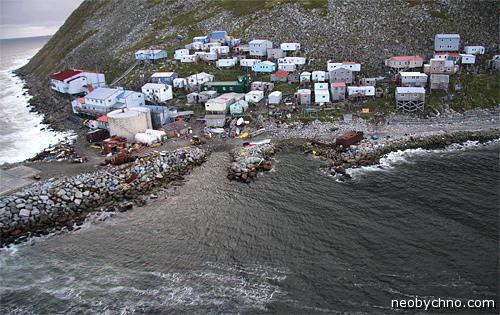 На границе России и Америки живут эскимосы