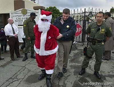 Санта Клауса арестовали