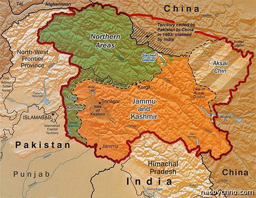 Как делят Кашмир