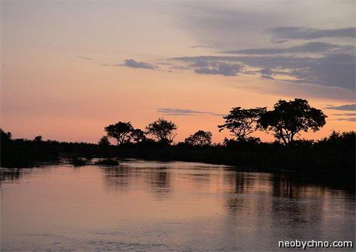 Полоса Каприви - мокрое место Намибии