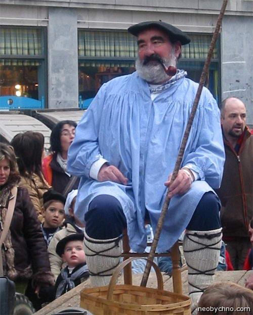 Оленцеро, баскский Дед Мороз