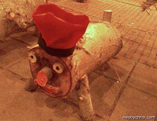 Тио де Надаль, рождественский засранец
