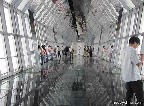 Шанхай, смотровая площадка