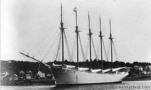 корабль призрак Диринг