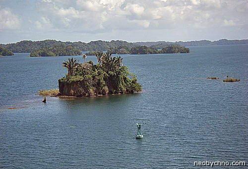 панамский канал озеро гатун