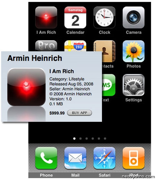 самое дорогое приложение для айфона
