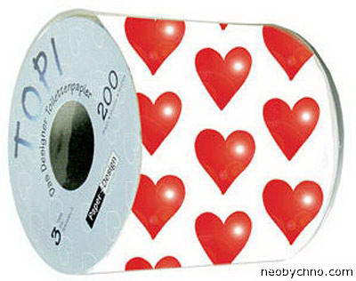 туалетная бумага ко дню святого валентина