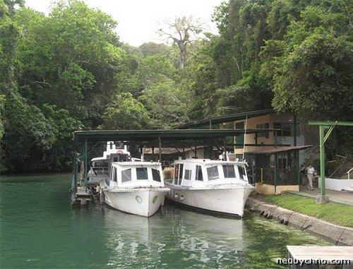 Озеро Гатун Панама