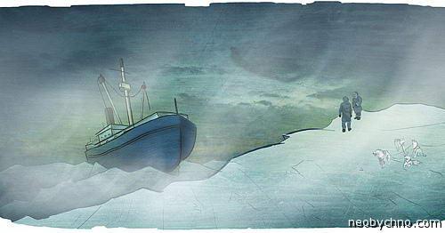 На Аляске обнаружили корабль-призрак