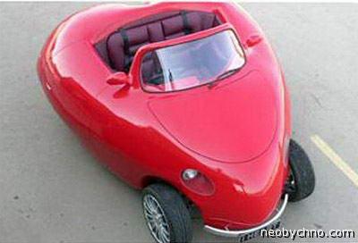 Автомобиль в форме сердца