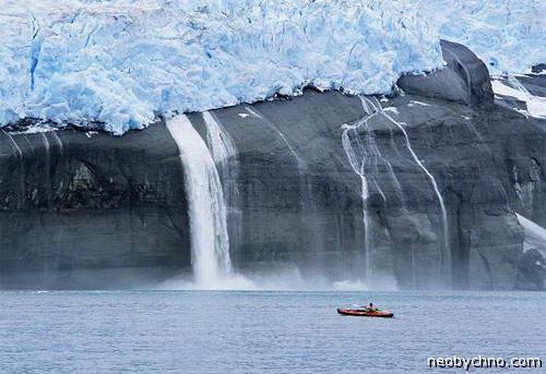 Аляска ледник фото