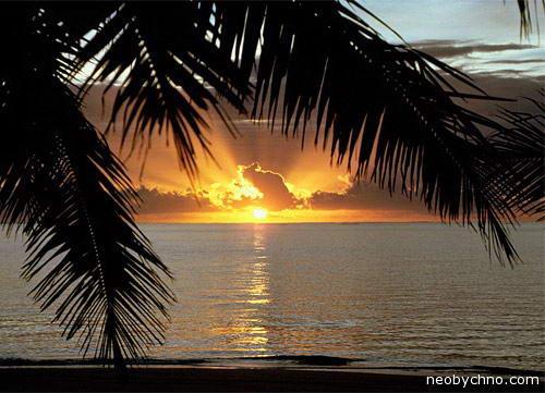 Сейшелы закат