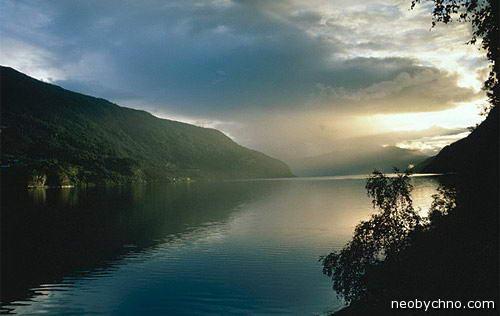фьорд норвегия красивое фото