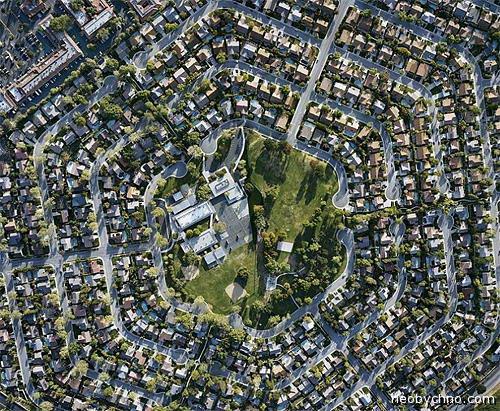 Красивая планировка города фото