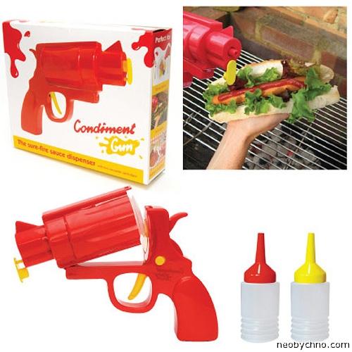 пистолет для кетчупа и майонеза