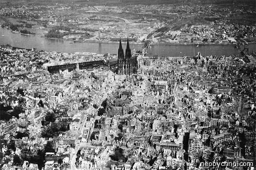 Вид города с неба