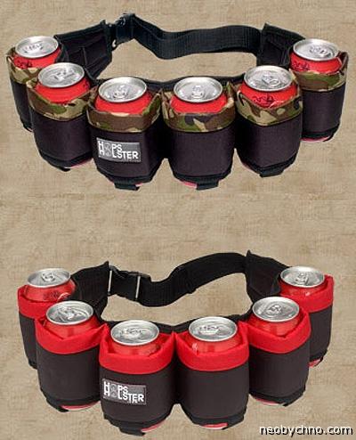 необычный подарок пояс для пива