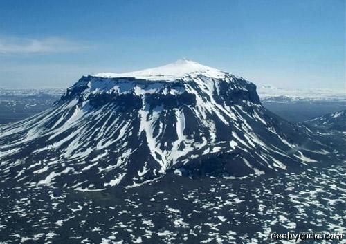 Хероубрейо, столовая гора в Исландии