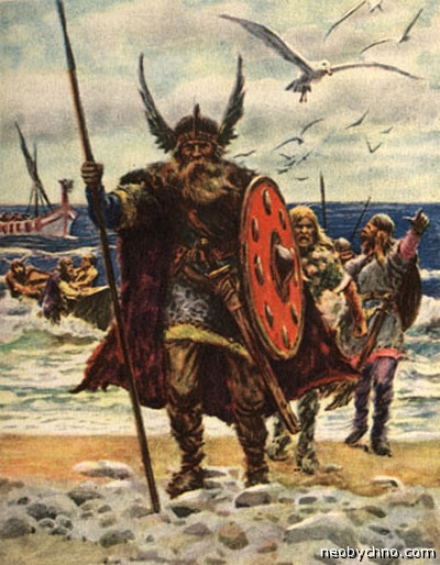 Ивар Бескостный высадился в Англии