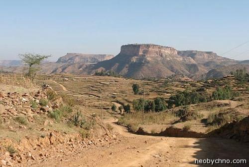 Гора Дебре Дамо, Эфиопия