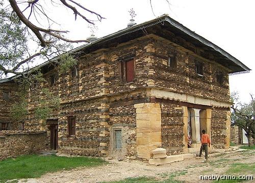 Древняя эфиопская церковь на столовой горе