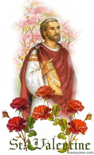 Святой Валентин мученик