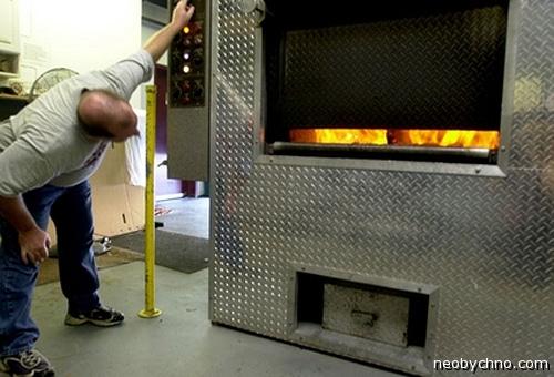 Электричество из крематория