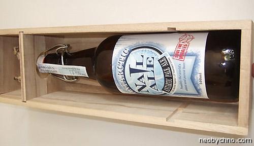 Пиво из антарктического льда