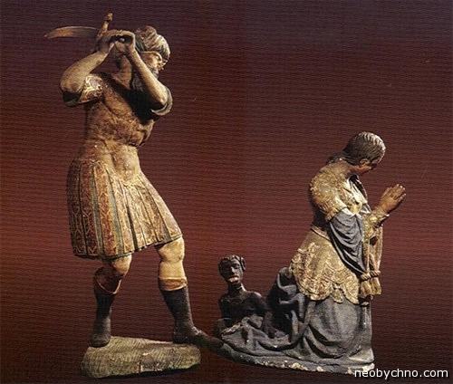 Казнь святой Димфны