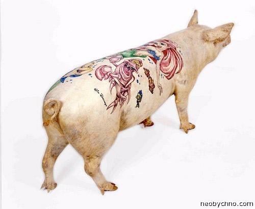 Татуировать свиней