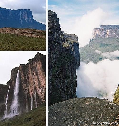 Водопад Кукенан, Венесуэла