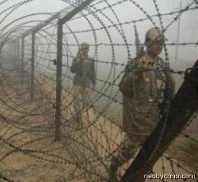 Граница в Кашмире