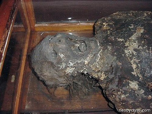 Мыльная леди, труп в экспозиции самого страшного музея