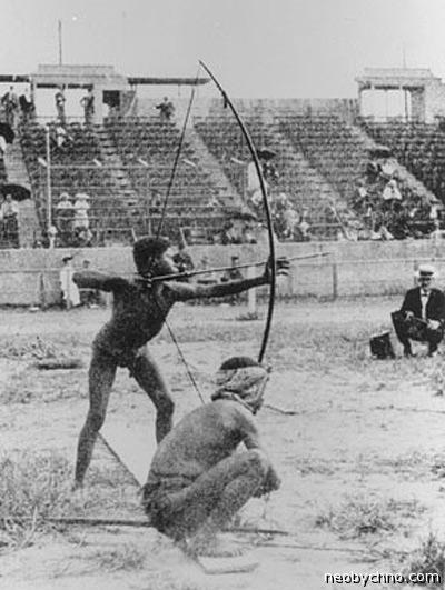 пигмеи на олимпиаде 1904