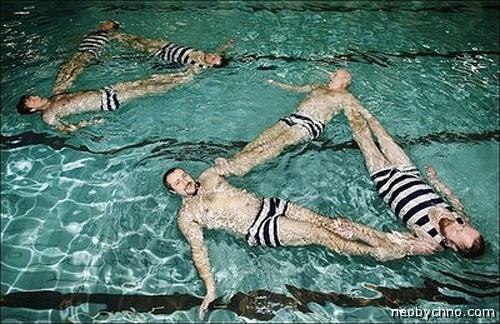Мужское синхронное плавание