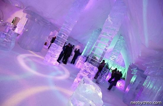 Необычные ледяные дома