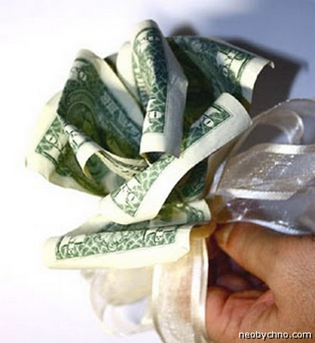 Оригами из денег (манигами)