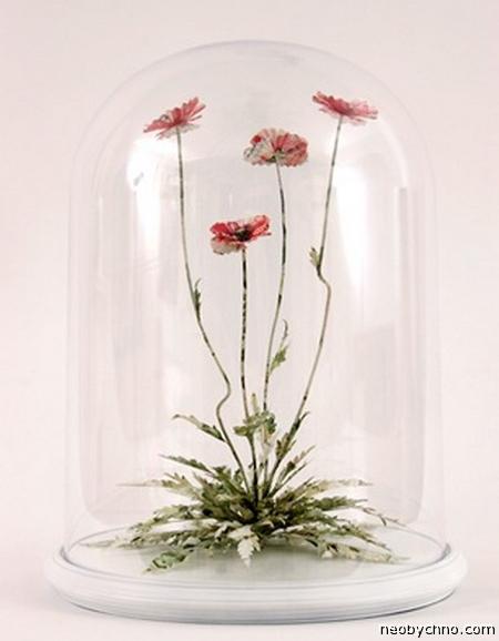 цветок манигами