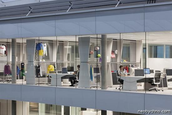 Новый офис Adidas
