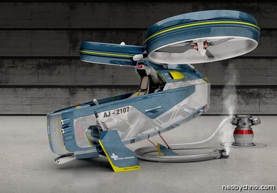 Megacity Aviation - летающий автомобиль