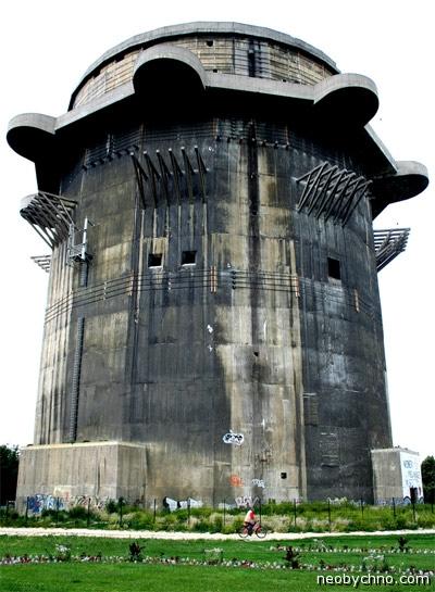 Зенитные башни Люфтваффе — несокрушимые «памятники» Гитлеру