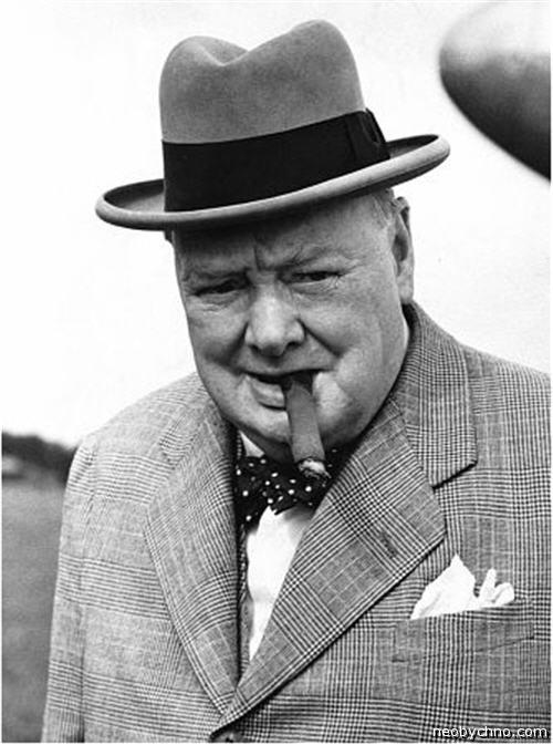 Черчилль с сигарой