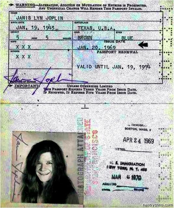 Ваши документики, граждане кумиры. Паспорта знаменитостей