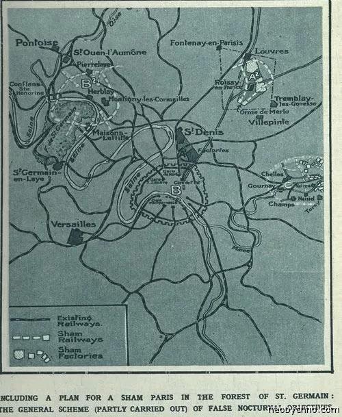 Место строительства города-двойника Парижа
